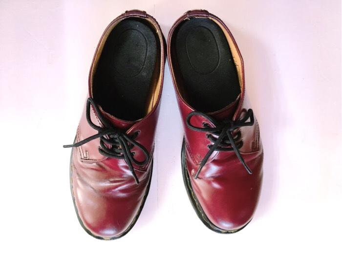 3年使用したDr.Martens(ドクターマーチン)のブーツカラー(チェリーレッド)