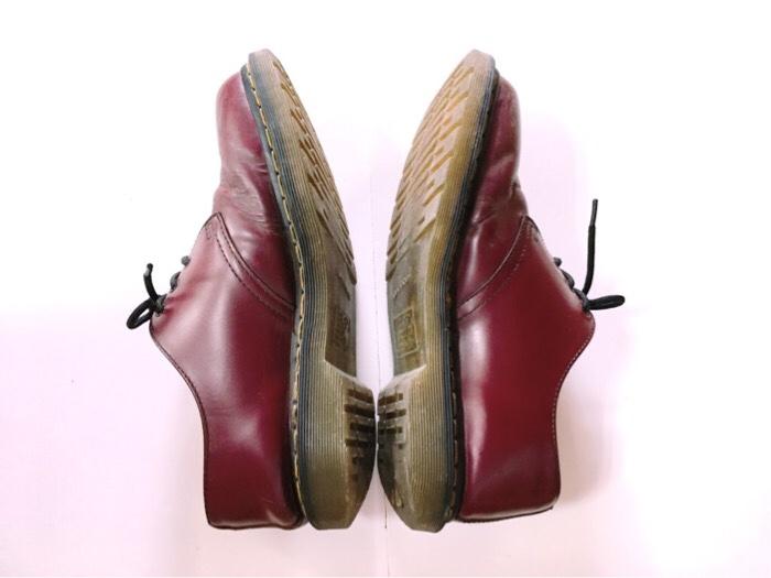 3年使用したDr.Martens(ドクターマーチン)の外見(靴紐、ソール、糸など)