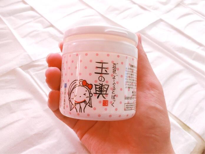 豆乳ヨーグルトパック「玉の輿」