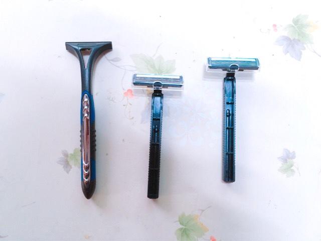 ケツ毛を処理する脱毛アイテム:カミソリ・シェーバー