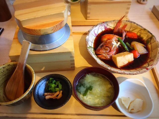 めざまし占い占いがきっかけで食べた和食