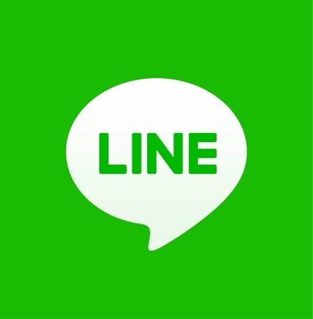 LINEを起動します。